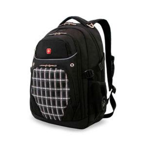 Черный городской рюкзак WENGER 32л. 3107204408