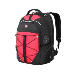 Городской черно красный рюкзак WENGER 30л. 6772201408
