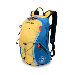 Туристический желто синий рюкзак WENGER 14л. 3053347402