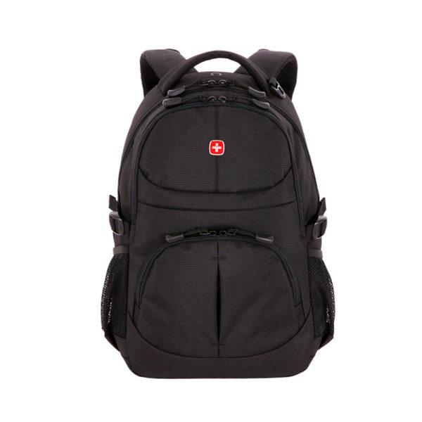 Черный городской мужской рюкзак WENGER 22л. 3001202408