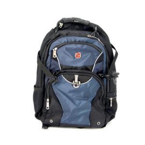 Городской черно синий рюкзак WENGER 32л. 3263203410