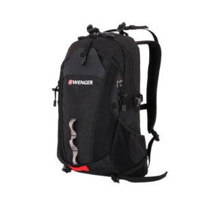 Туристический черный рюкзак для активного отдыха WENGER 28л. 30582215