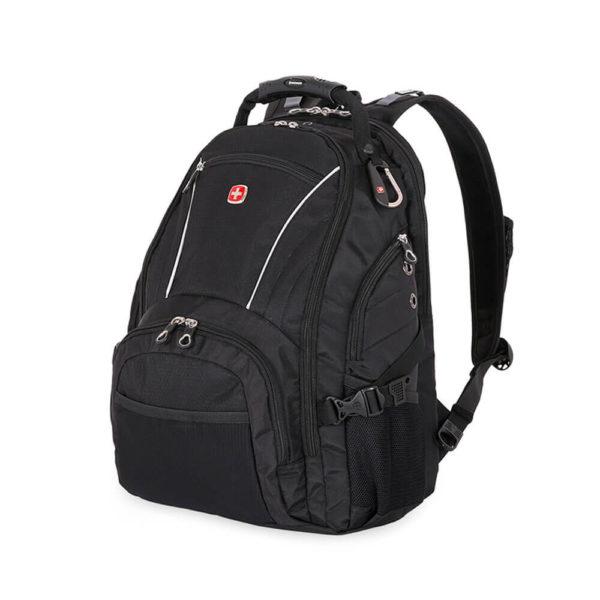Городской мужской черный рюкзак WENGER 32л. 3181032000408