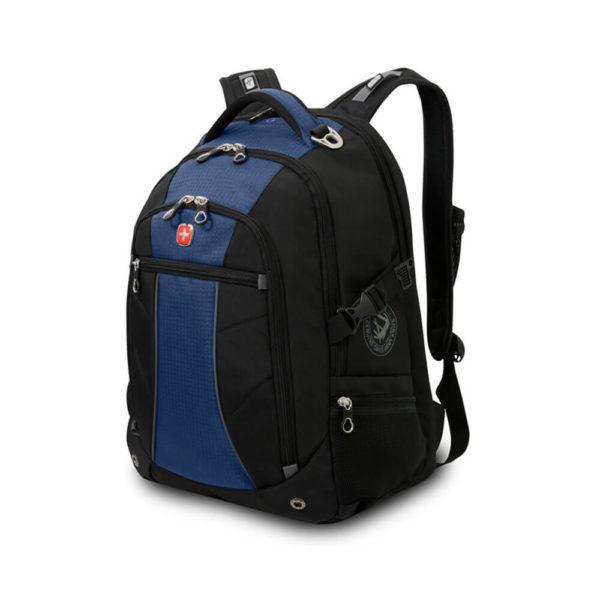 Черно синий городской рюкзак WENGER 32л. 3118302408
