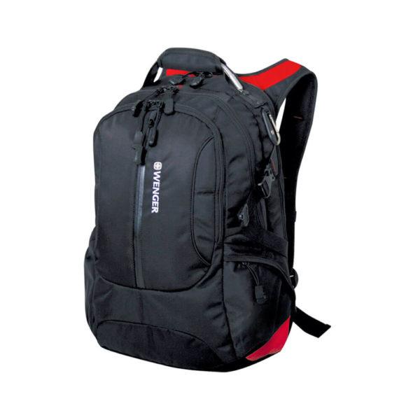 Городской черный мужской рюкзак WENGER 30л. 15912215