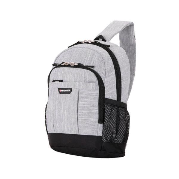 Однолямочный рюкзак серый WENGER 13л. 2610424550