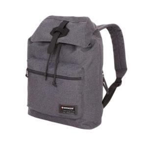 Серый рюкзак мешок на завязках WENGER 15л. 5331424403