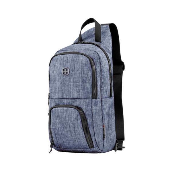 WENGER синий однолямочный рюкзак 8л. 605031