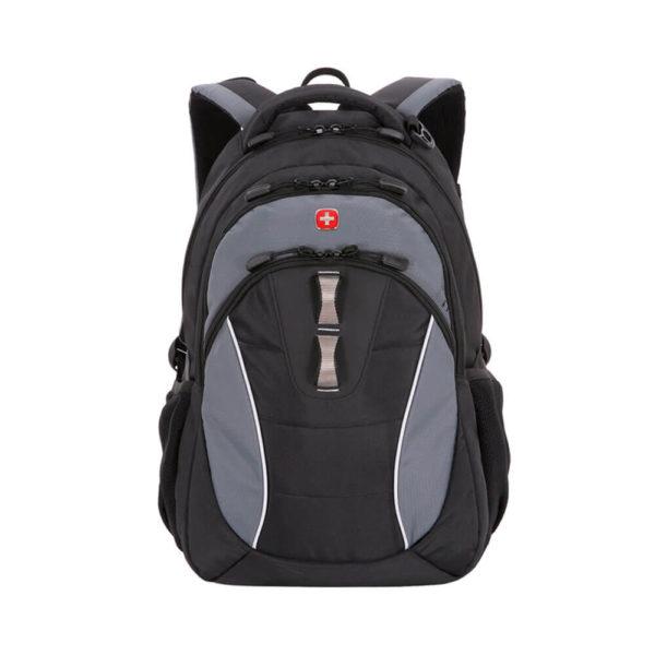 Городской черно серый мужской рюкзак WENGER 22л. 16062415