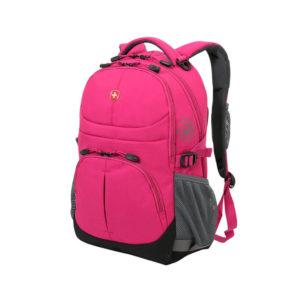 Женский школьный розовый рюкзак WENGER 22л. 3001932408
