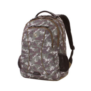 Зелёный камуфляжный рюкзак WENGER 34л. 6659600408