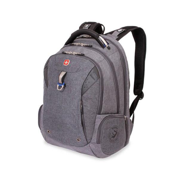 Деловой серый рюкзак WENGER 34л. 5902403416