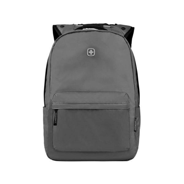 Серый школьный рюкзак WENGER 18л. 605033