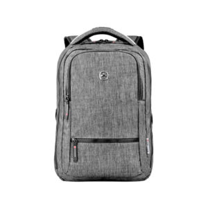 Деловой серый рюкзак WENGER 14л. 605023