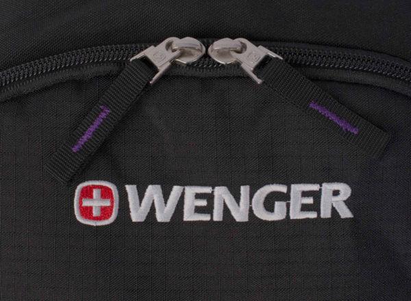 Черный школьный рюкзак WENGER 22л. 13852915