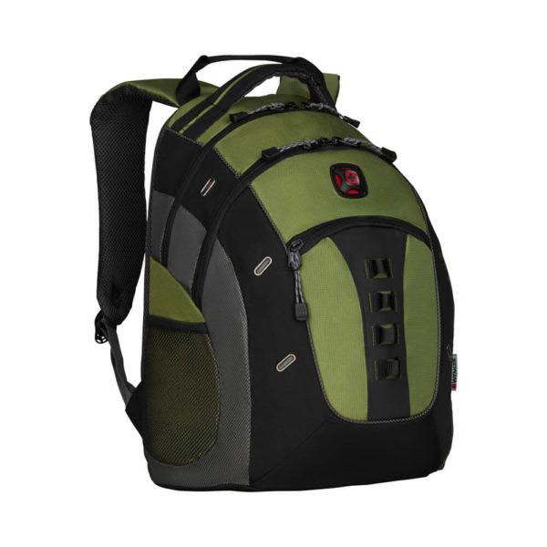 Стильный зелёный рюкзак Granite WENGER 27л. 27335070