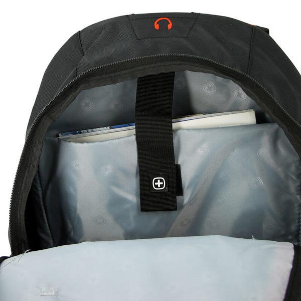 Рюкзак оранжево черный WENGER 22л. 3191207408
