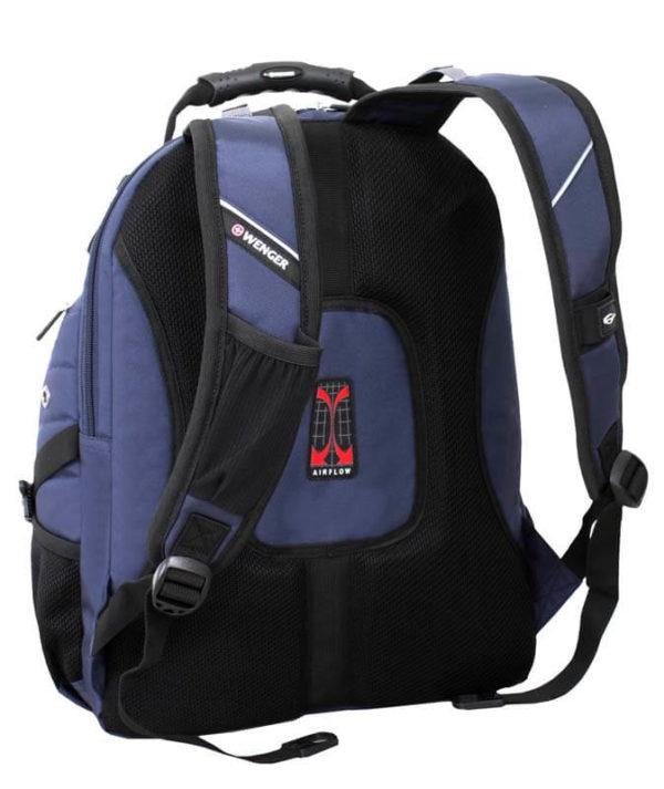 Синий городской рюкзак WENGER 29л. 3181303408