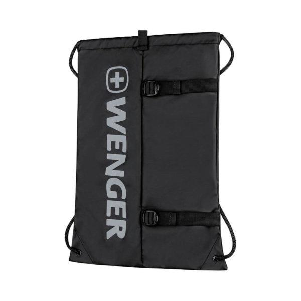 Рюкзак мешок черный на завязках XC Fyrst WENGER 12л. 610167