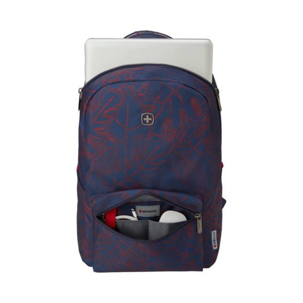 Синий рюкзак с отделением для ноутбука Colleague WENGER 22л. 606467