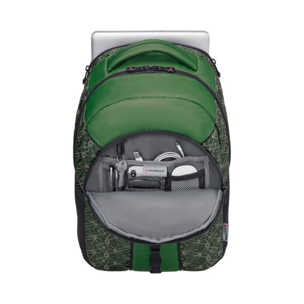 Sun WENGER зелёный швейцарский рюкзак 27л. 610212