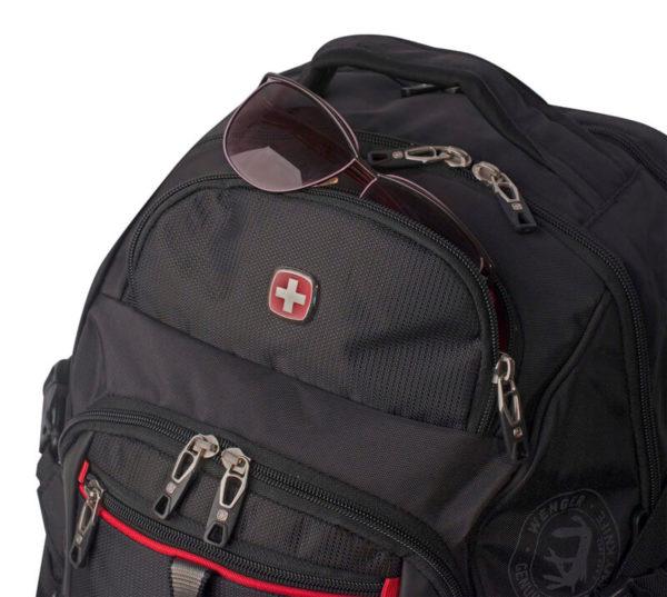 Городской мужской черный рюкзак WENGER 34л. 6968201408