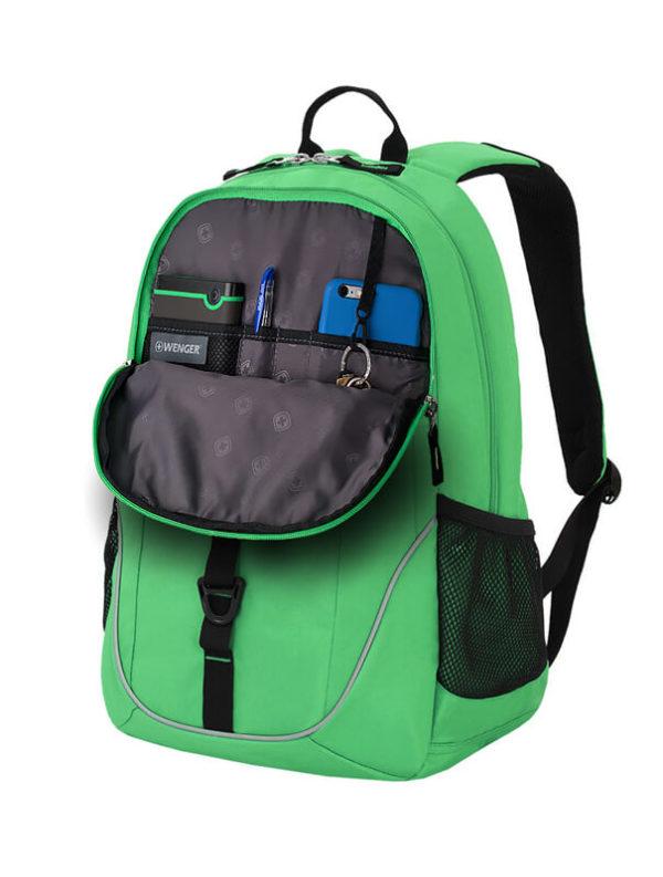 Молодежный салатовый рюкзак WENGER 26л. 6639662408