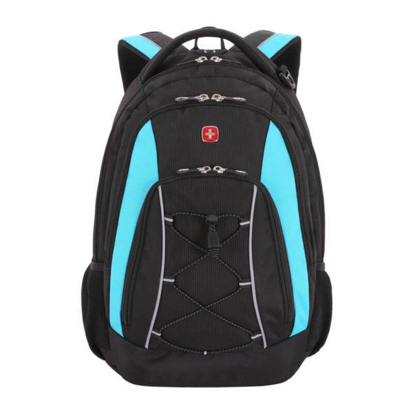 Городской черный рюкзак WENGER 28л. 11862315-2