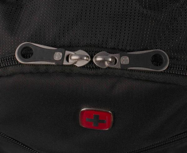 Мужской городской черный рюкзак WENGER 33л. 1178215
