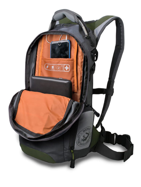 Походный рюкзак WENGER серый 22л. 13024415