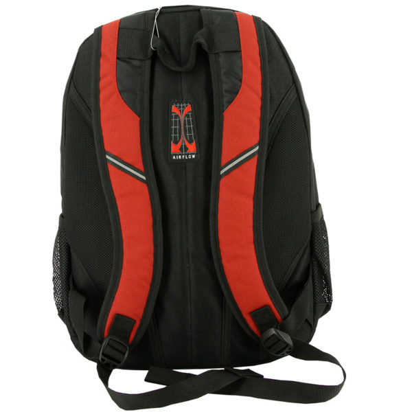 Городской черно красный рюкзак WENGER 22л. 3191201408