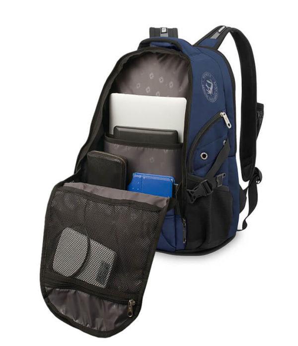 Городской синий рюкзак WENGER 26л. 98673215