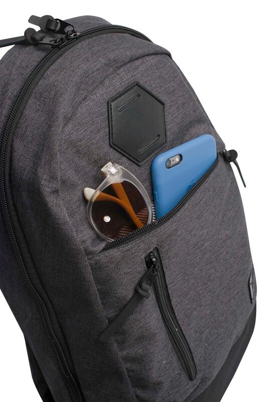 Серый деловой рюкзак WENGER 22л. 5319424422