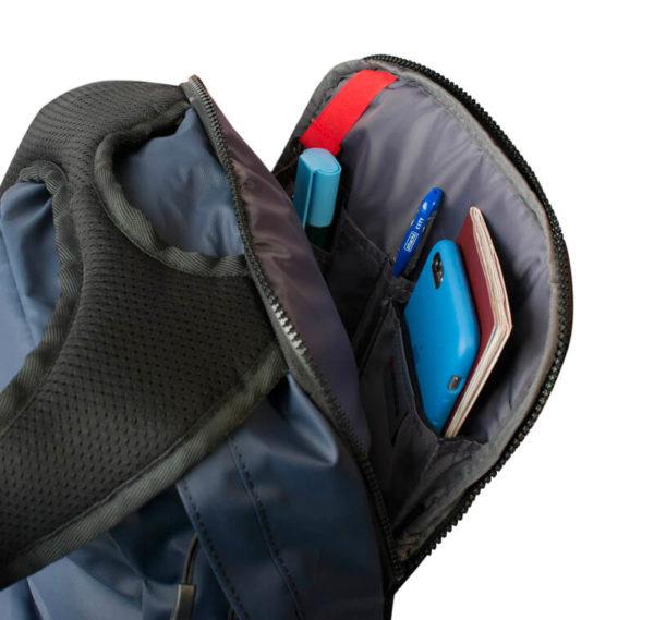 Синий мужской рюкзак WENGER 18л. 605096