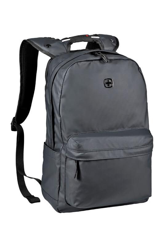 Городской черный рюкзак WENGER 18л. 605032