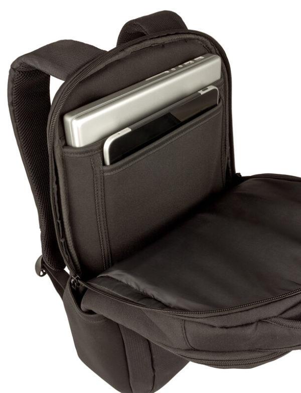 Повседневный черный рюкзак Fuse WENGER 16л. 600630
