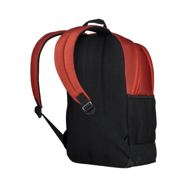 Оранжевый городской рюкзак унисекс Quadma WENGER 20л. 610200