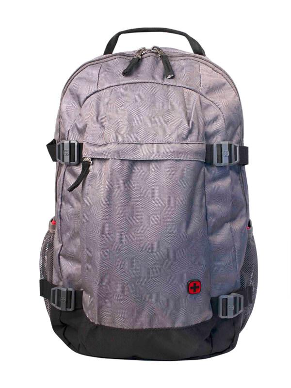 Универсальный городской серый рюкзак WENGER 28л. 602658