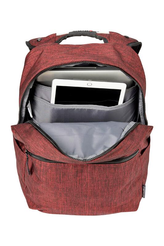 Бордовый рюкзак для ноутбука WENGER 22л. 605027