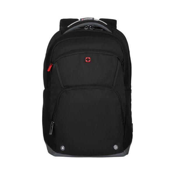 Черный швейцарский рюкзак Buffer WENGER 21л. 604970