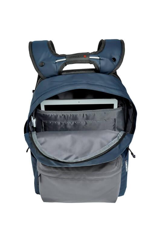 Городской синий рюкзак WENGER 18л. 605035