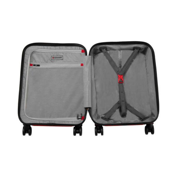 Небольшой красный чемодан Lumen WENGER 61л. 604340
