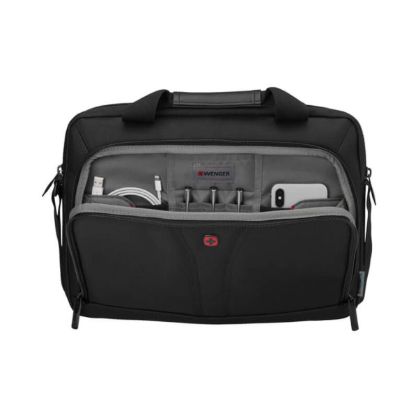 Черная сумка для ноутбука 14 дюймов BC-Free WENGER 5л. 606461