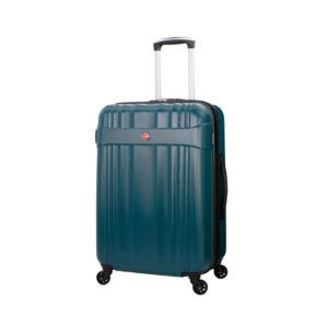 Белый зеленый чемодан EMME WENGER 68л. 6357636167
