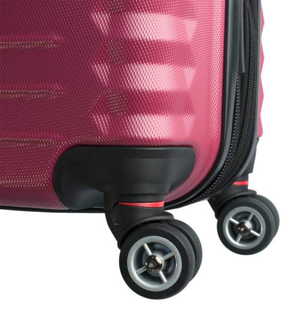 Стильный красный чемодан FRIBOURG WENGER 35л. SW32300152