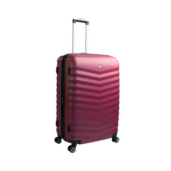 Стильный красный чемодан FRIBOURG WENGER 64л. SW32300167