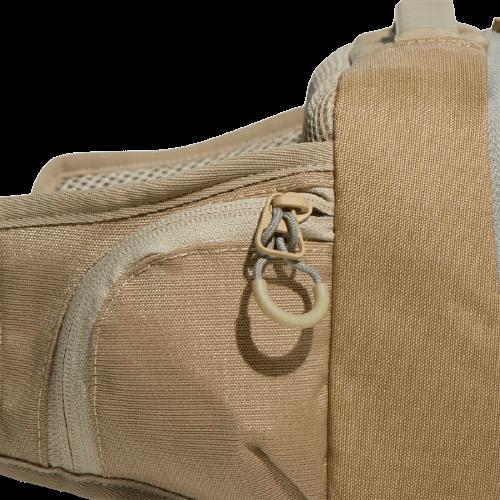 Бежевая сумка на поясе Adidas 9л. FS9053