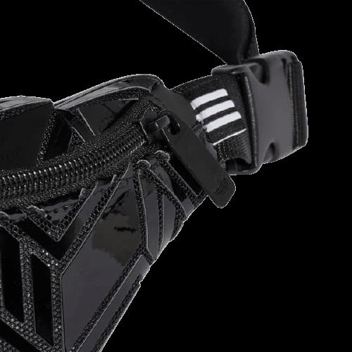 Черная набедренная сумка Adidas 0,75л. GD2608