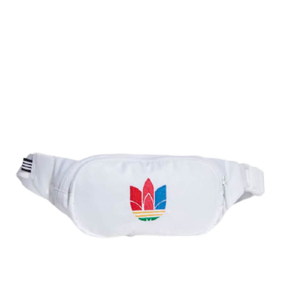 Белая сумка на поясе от Adidas Essential GD4723