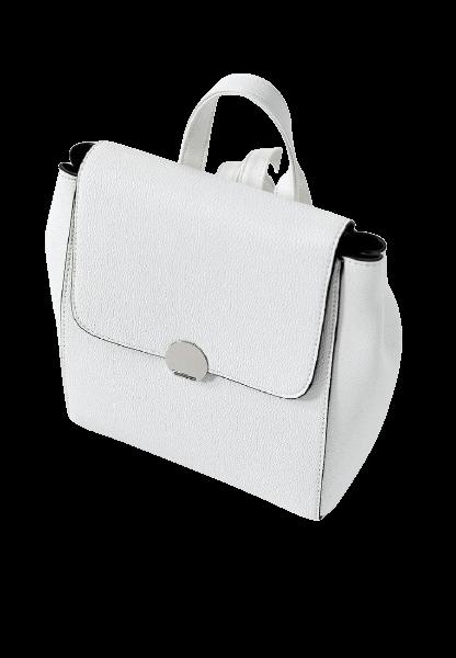 Небольшой белый женский рюкзак Stradivarius IX001XW00LAT